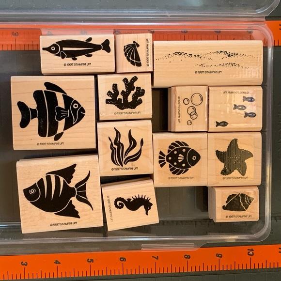 Stampin' Up! FISH FROLICS